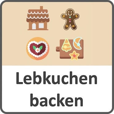 Lebkuchen backen