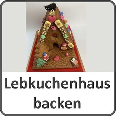Lebkuchenhaus backen
