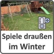 Spiele für draußen im Winter