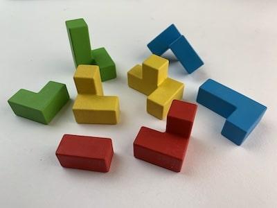Ubongo-3D-Bausteine eines Spielers