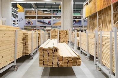 Mit Holz werken
