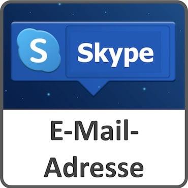 Skype und die E-Mail-Adresse