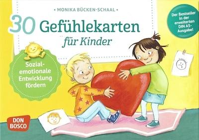 30 Gefühlekarten für Kinder