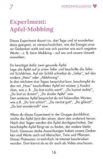 Experiment Apfel-Mobbing