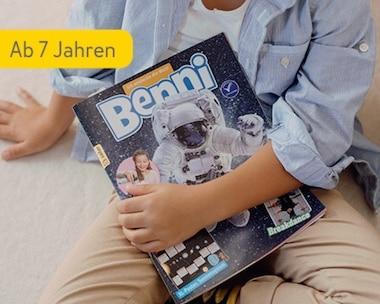 Kinderzeitschrift Benni ab 7 Jahren