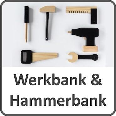 Hammerbank und Werkbank für Kleinkinder