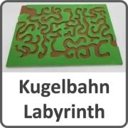 Laubsägen Kugelbahn Labyrinth
