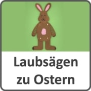 Laubsägen zu Ostern