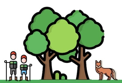 mit Enkeln raus ins Grüne