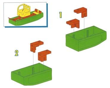 Konstruktionsanleitung von fischertechnik