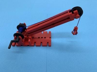 Konstruktion mechansiche Seilwinde