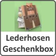Lederhosen Geschenkbox