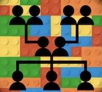 LEGO-Familienstammbaum als Idee