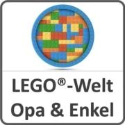 Lego-Welt von Opa und Enkel