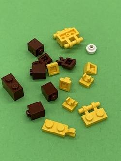 LEGO-teiel kleine Giraffe