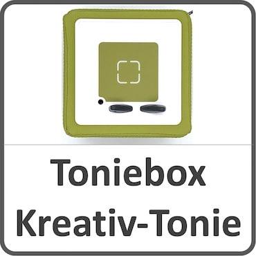 Toniebox und Kreativ-Tonie