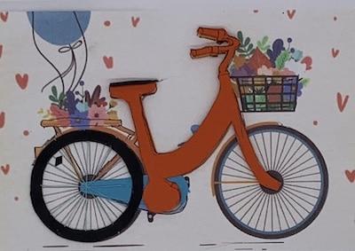 Fahrrad-Rahmen und andere Teile zusammenkleben