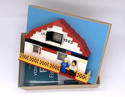 Geschenkbox für Bauherren, Haus- und Immobilien-Käufer