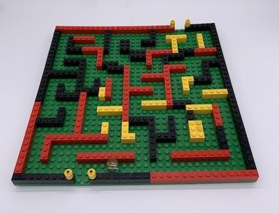 Irrgarten mit LEGO-Steinen bauen