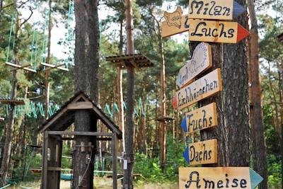 Kletterwald Lübben im Spreewald