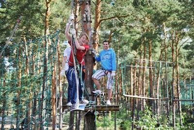 Spass und Vergnügen im Kletterwald Lübben