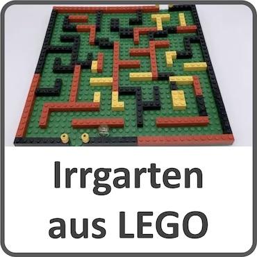 Irrgarten aus LEGO-Steinen