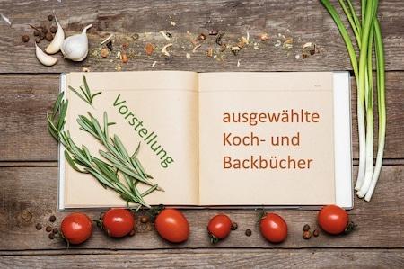 Koch- und Backbücher für Opa imd Oma