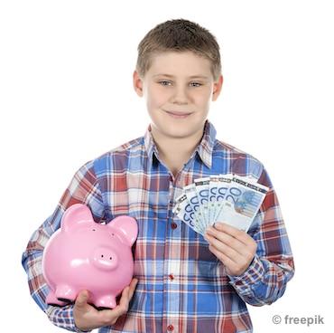 Taschengeld für Enkel