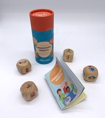 Kinderyoga-Würfel vom ellermann Verlag