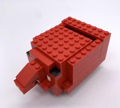 Sparschwein aus Lego-Steinen