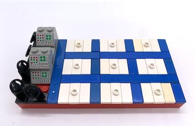 Tica-Tac-Toe aus LEGO-Steinen
