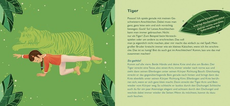 Vorlesebuch - Kinderyoga-Übungen - Tiger