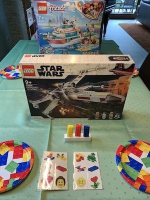 LEGO-Party bei den Großeltern