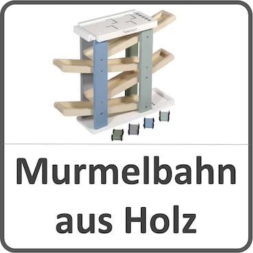 Holzmurmelbahn für Kinder